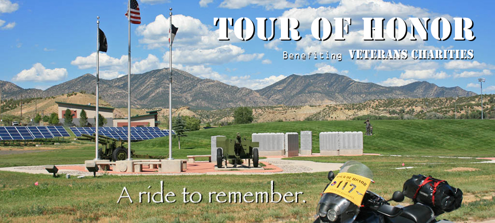 Tour of Honor Colorado memorial