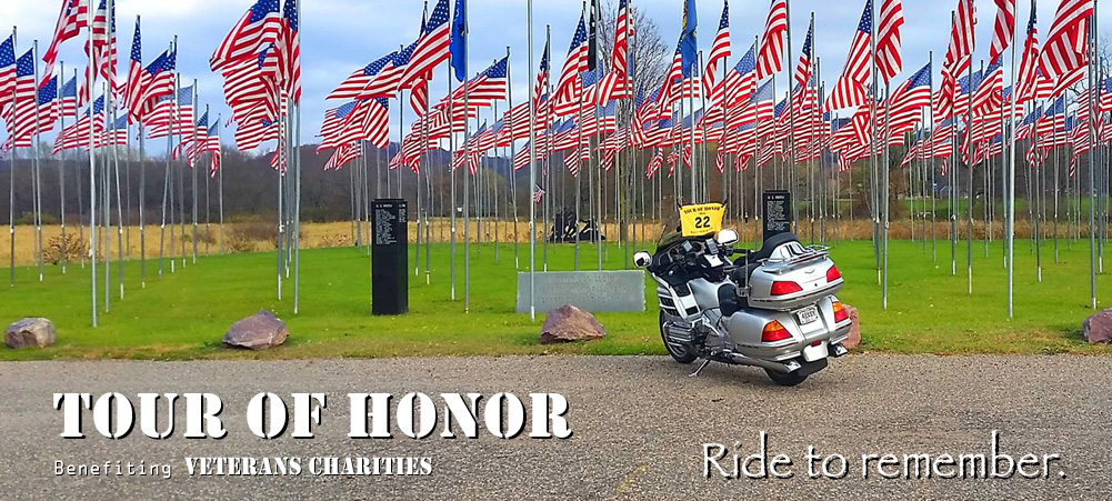 Tour of Honor Flags memorial