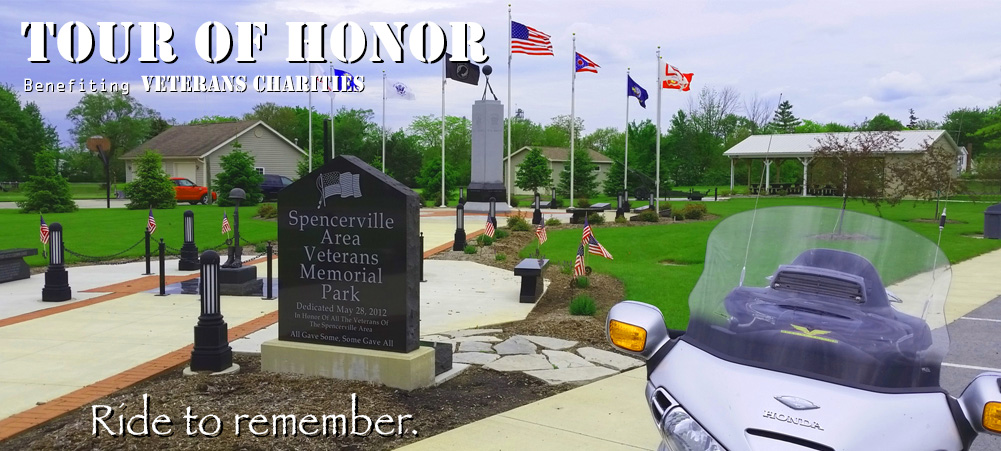 Spencerville Ohio Veterans Memorial Park