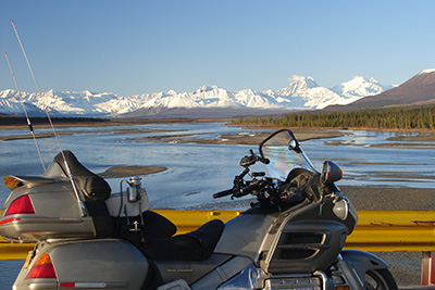 Motorcycling in Alaska