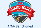 American Motorcyclist Association Grand Tours logo