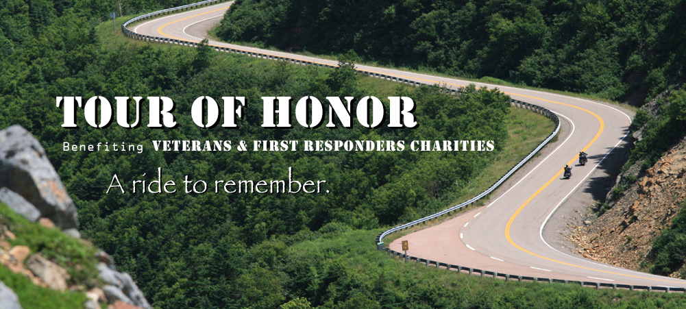 Tour of Honor ribbon highway