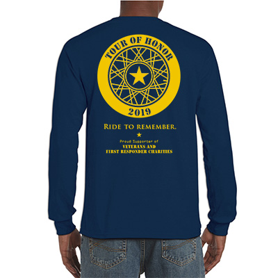 Tour of Honor long sleeve shirt